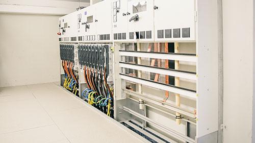 Inbyggda nätstationer i Linköpings nya stadsdel