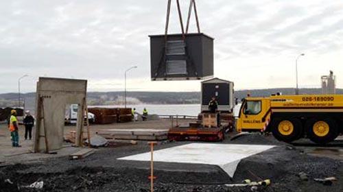 Smidig anpassning av nätstation i Östersund